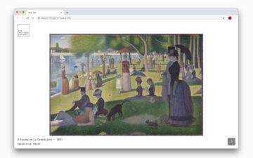 Art Institute of Chicago: Art Tab