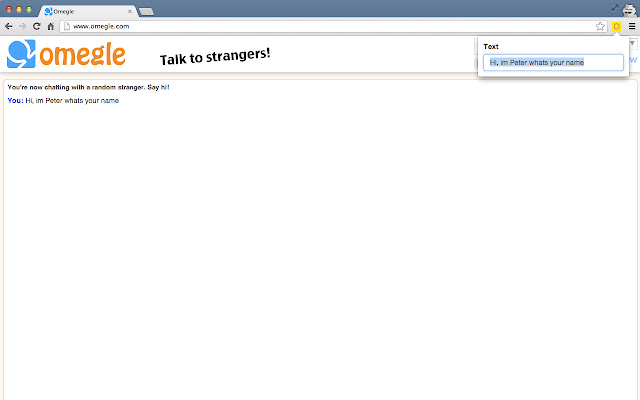 Chat omegle Sites Like