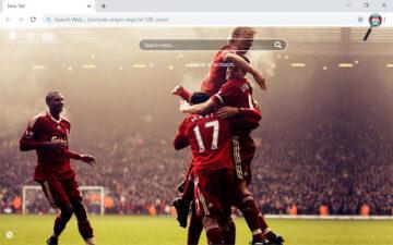 Liverpool F.C HD Wallpapers New Tab