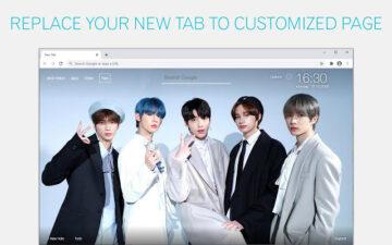 Kpop TXT Wallpaper HD New Tab - freeaddon.com