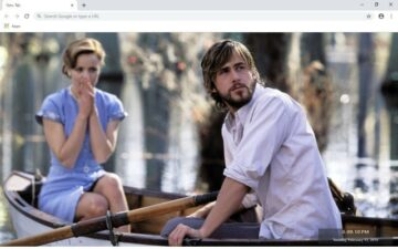 The Notebook New Tab & Wallpapers Collection
