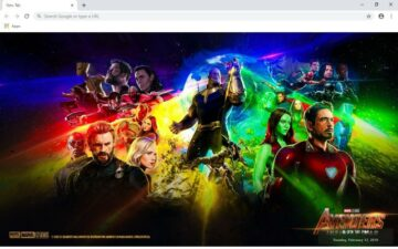 Avengers Infinity New Tab