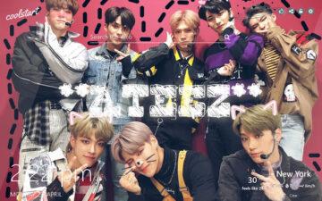 ATEEZ HD Wallpapers Kpop Muisic New Tab Theme