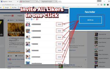 Post Likers Inviter