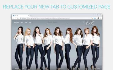 Kpop SNSD Backgrounds New Tab - freeaddon.com