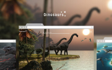 Dinosaurs HD Wallpaper Theme