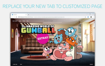 The Amazing World Of Gumball Wallpaper NewTab
