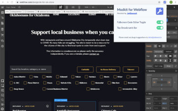 Modkit for Webflow