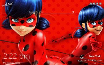 Miraculous Ladybug HD Wallpaper New Tab Theme