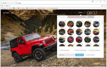 Jeep Car Wallpaper Cars New Tab freeaddon.com