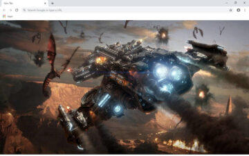 Starcraft 2 Wallpapers and New Tab