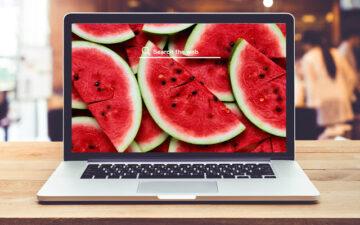 Watermelon HD Wallpaper New Tab Theme