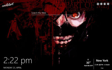 Tokyo Ghoul HD Wallpapers New Tab Anime Theme