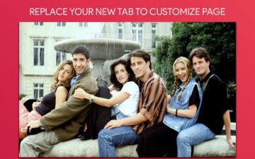 Friends Wallpaper HD Custom New Tab