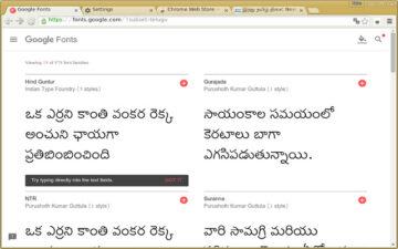 Telugu Font Pack