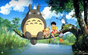 Totoro HD Wallpapers New Tab Theme