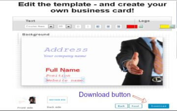 Easy Business Card Creator