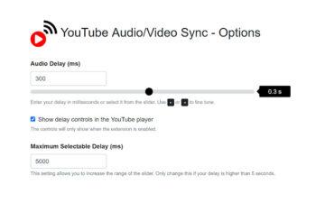 YouTube Audio/Video Sync