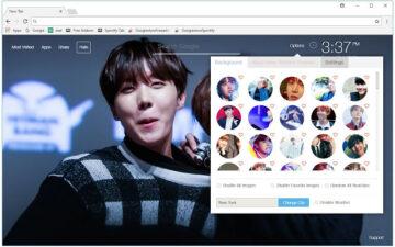 BTS J-Hope Wallpaper HD Bangtan Boys J NewTab