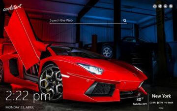 Sports Cars HD Wallpapers New Tab Theme
