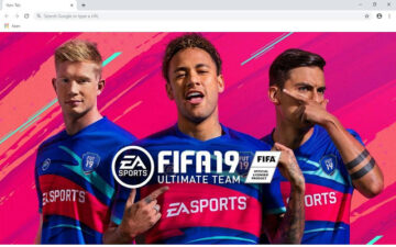 Fifa 19 Wallpapers and New Tab
