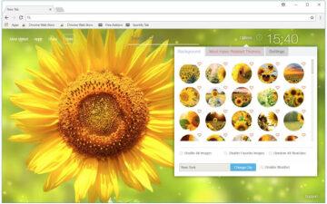 Sunflowers Wallpapers New Tab - freeaddon.com