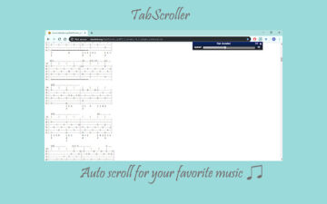 Tab Scroller - Guitar Tab Auto Scroll