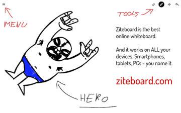 Ziteboard - zooming collaboration whiteboard