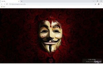 V For Vendetta New Tab