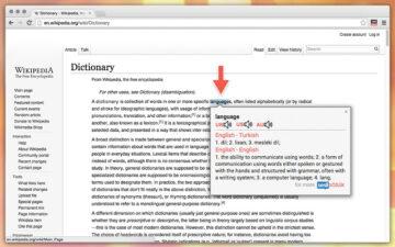Sesli Sözlük Dictionary