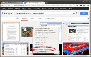 Full Window Image Viewer